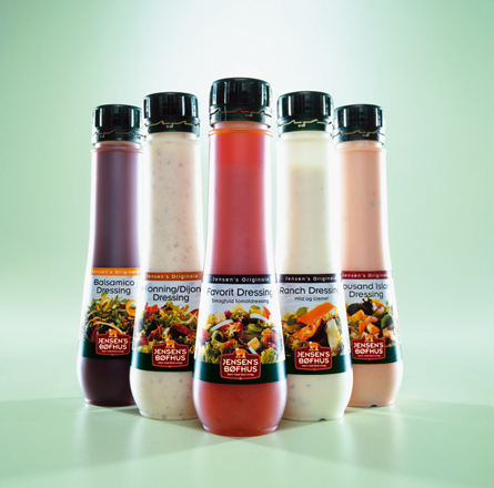 jensens foods dressing flasker