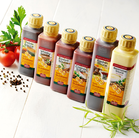 jensens foods sauce flasker